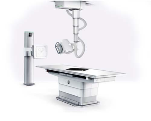 Aparato de resonancia magnética en el centro Origen, diagnóstico y traumatología.