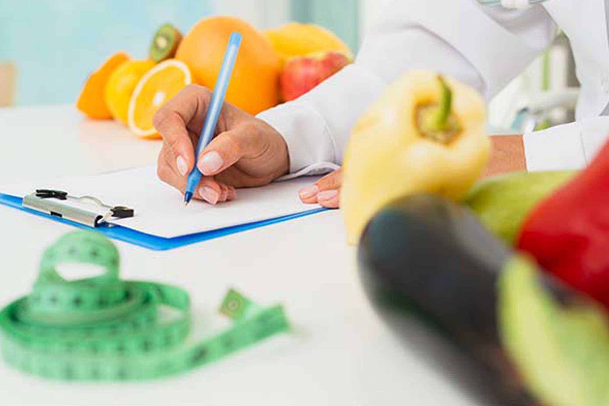Servicio de nutrición. Origen, diagnóstico y traumatología